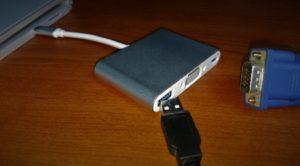 Wigwang USB Type C to VGA 変換アダプタ