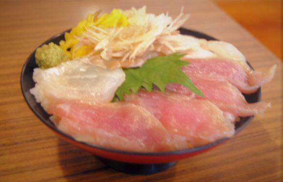 地魚2種丼