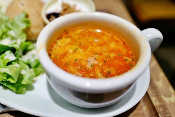 ウナウのあったまるスープ。