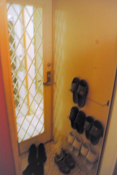 客室の玄関です。ちょっと狭いかも。