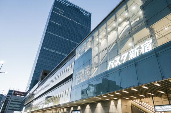 東京から浜松市までの経路_バス_