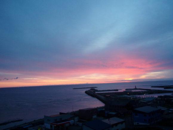 2007年10月11日 5:35の宗谷岬の朝日。