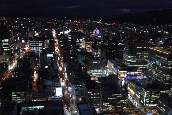 2018年にさっぽろ創世スクエアが出来たので、札幌テレビ塔が見えなくなりました。