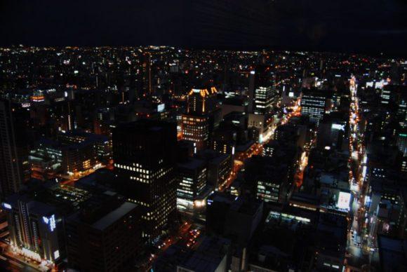 東京の夜景もいいけれど、札幌もなかなかいい夜景が撮れますね。