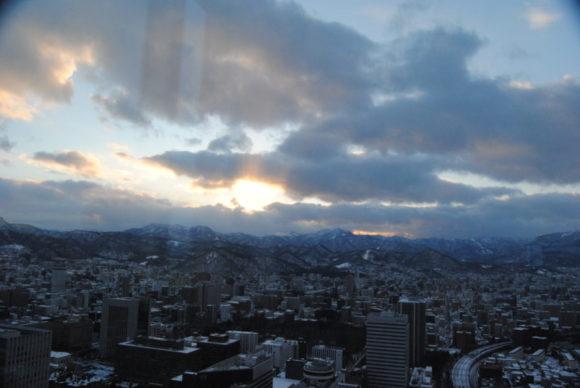 15:53。雲が多い日でした。