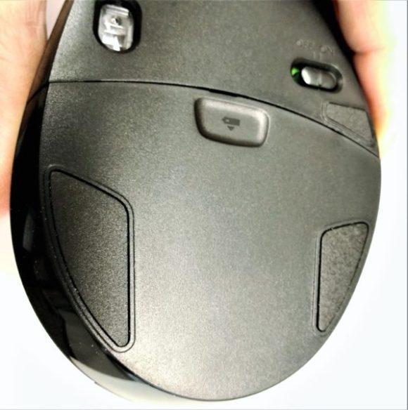 新型のマウスフット。