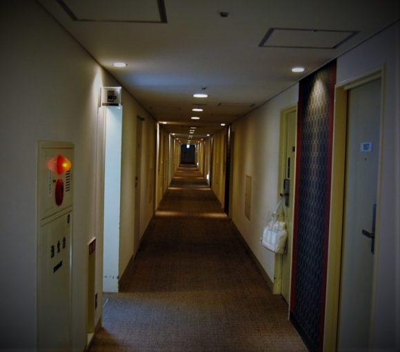 長い廊下を突き進む。