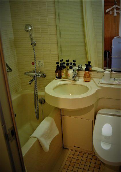 トイレはもちろんウォッシュレット付き。