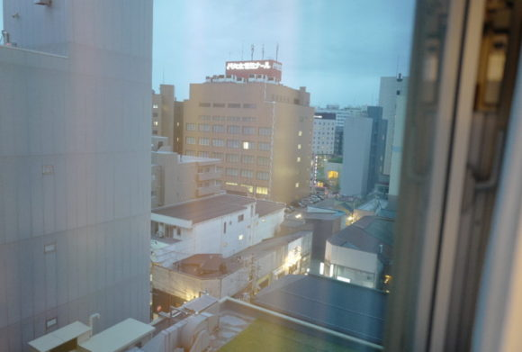 8階からの眺め。