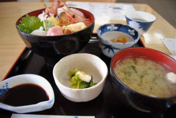 海鮮丼も美味かった~!