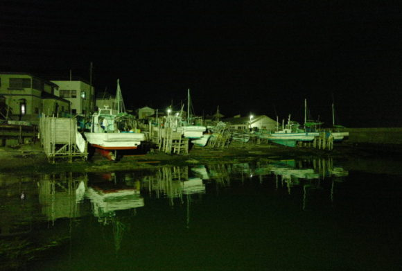干潮なアジング港