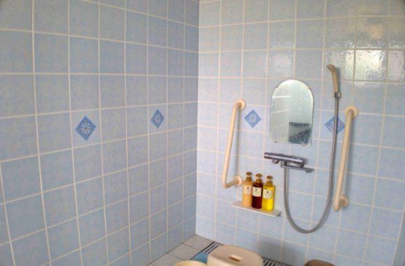 洗い場は2つあるので、多人数には向かないかな。