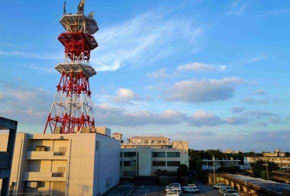 ホテル海邦石垣島の2階から撮影