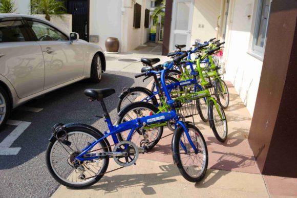 オシャレな自転車(レンタサイクル)