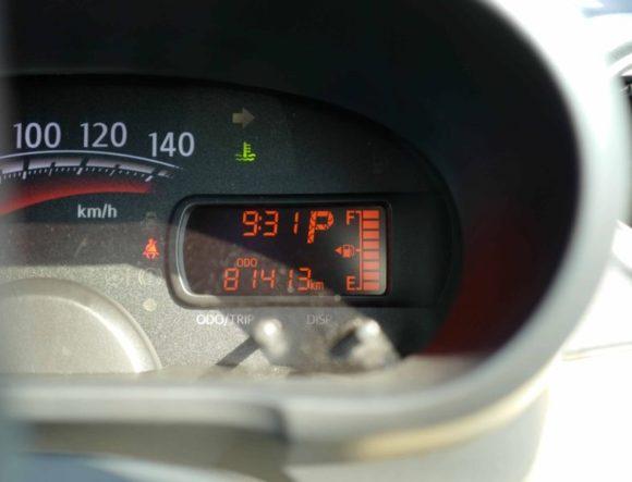 走行距離81413キロ
