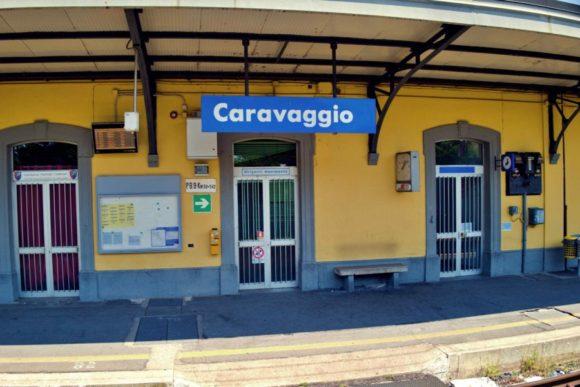 途中駅のカラバッジョ駅。