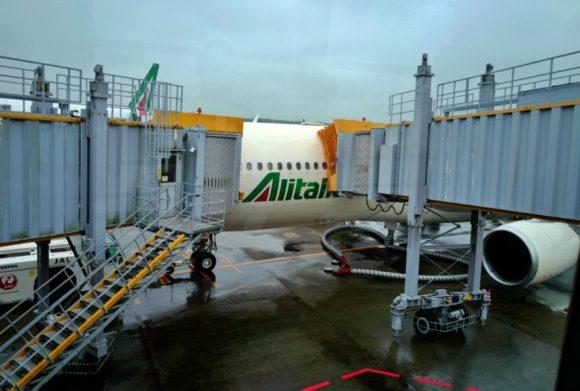 アリタリアの飛行機