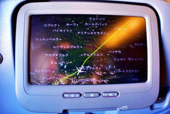 どの位置を飛行しているのか確認も可能。