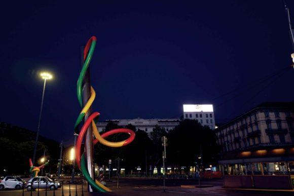夜のCadorna FN。