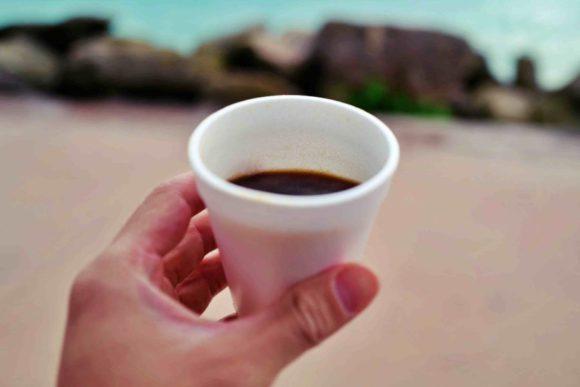 ポルトヴィアしたコーヒー