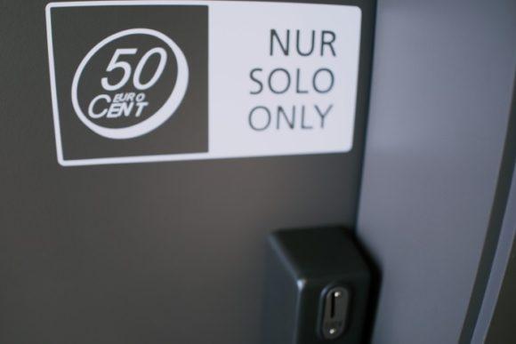 50セントのトイレ