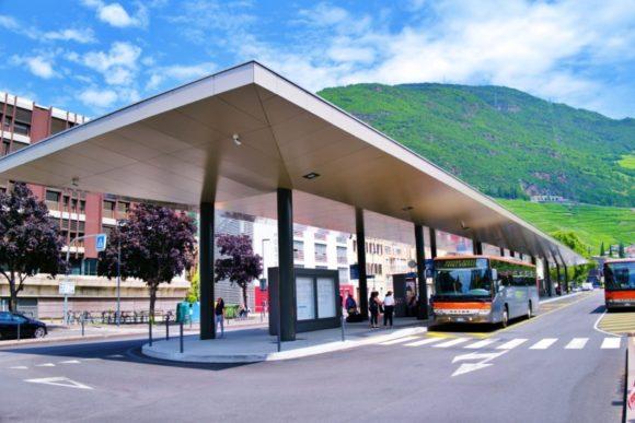 バスターミナル。