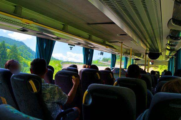 シウジ行きのバス。