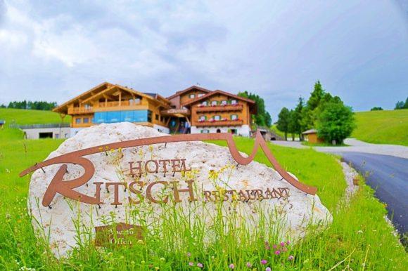 ホテルリッチは3つ星ホテルだとか。