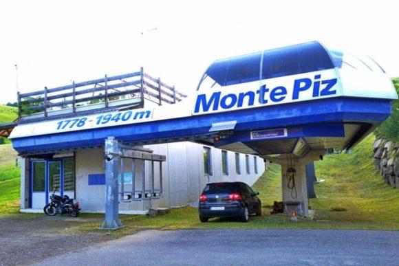 MONTE PIZのリフト(1778~1940M)