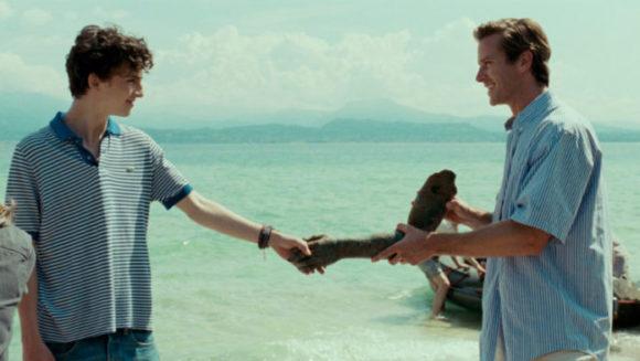 ジャマイカビーチでの映画のワンシーン。