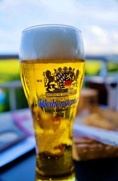 少し大きいサイズのドイツビール。