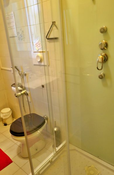 シャワールーム。