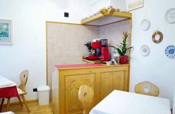 素敵な朝食の部屋。