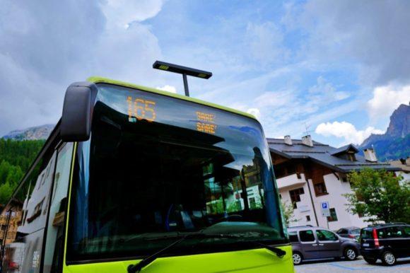 SARE行きのバス。