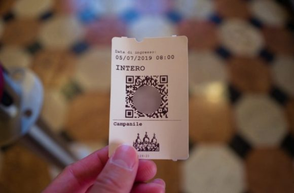 当日券のチケット。