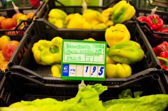 品物の値段とは別の番号を確認。このパプリカの画像なら20番だ。