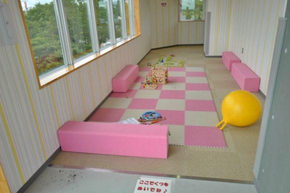 キッズスペース、授乳室