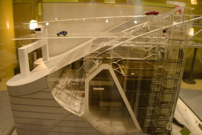 橋の模型図