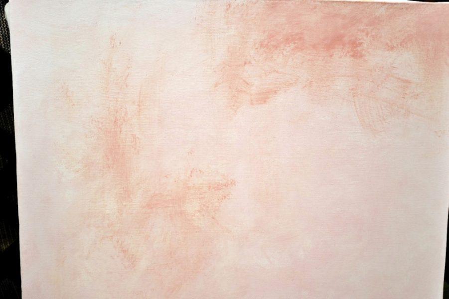 3,4回塗ると布目がほぼ消えます。