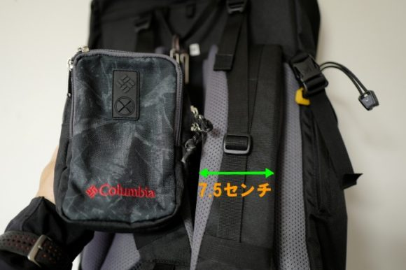 海外登山で利用したミレーのバックパックとポーチの比較。