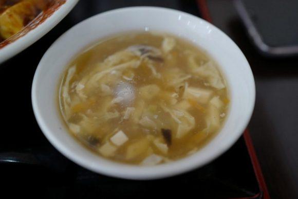とろりん中華スープ。