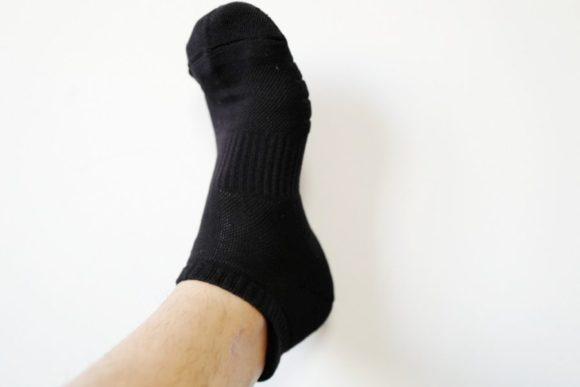 サイズはM。26.5センチの足にぴったり。