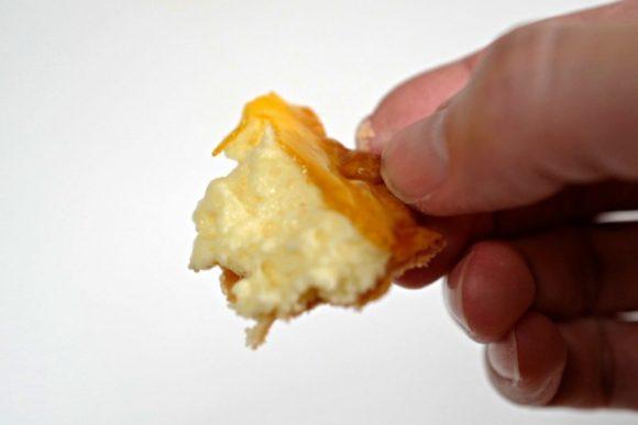 チーズと一緒にパイを。