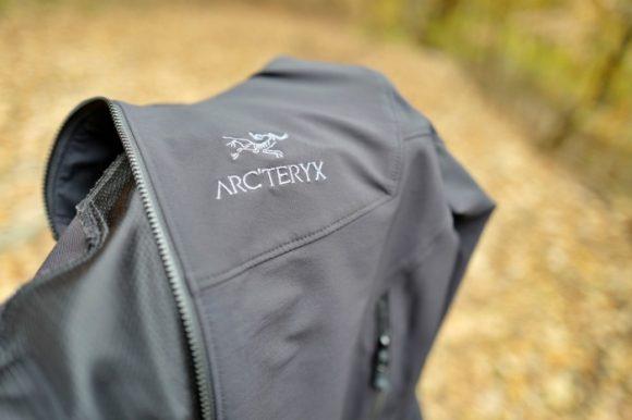以前ブログで紹介したアークテリクスのジャケット