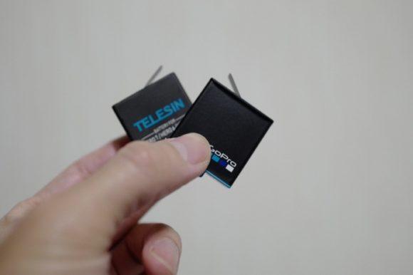 取り出しテープは純正品と向きが逆なので分かりやすい。