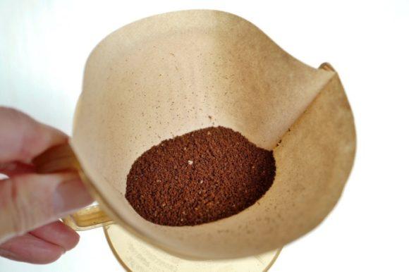 2杯分のコーヒー豆