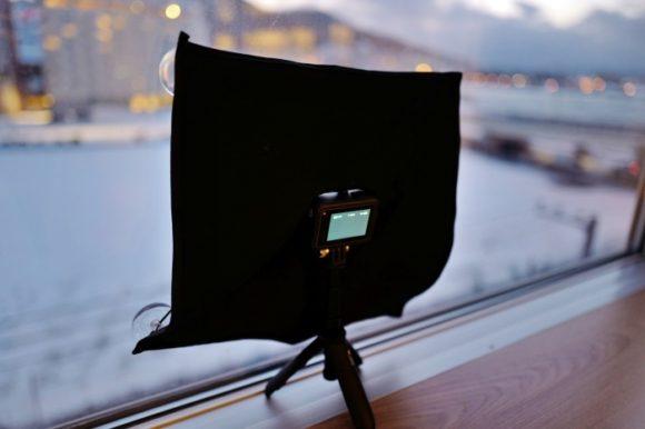 GOPRO×夜景!ガラスの映り込み・反射を防止するレフの作り方。