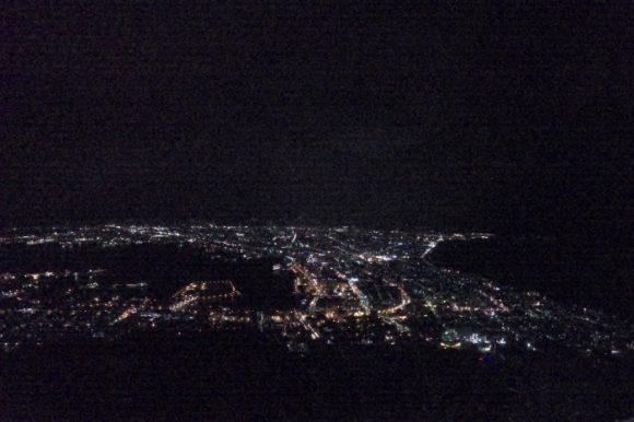 GoProHERO8で写真撮影した夜景。