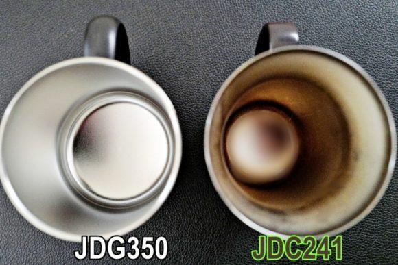 JDC241はやや円錐状だ。