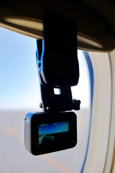 意外とGoProHero8が安定するクリップマウント。